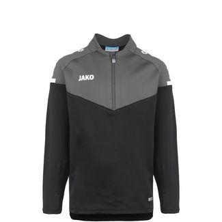 JAKO Champ 2.0 Ziptop Funktionssweatshirt Kinder schwarz / anthrazit