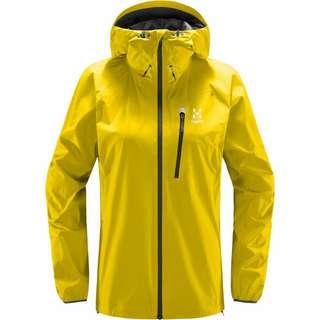 Haglöfs GORE-TEX® L.I.M Jacket Hardshelljacke Damen Signal yellow