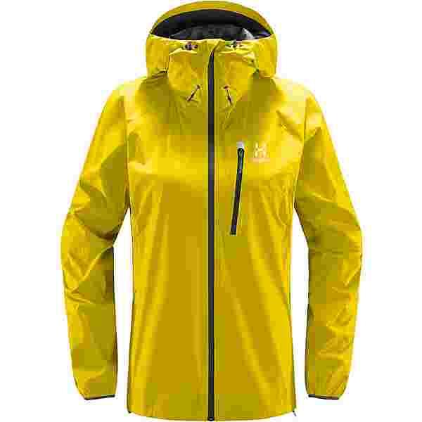Haglöfs GORE-TEX L.I.M Jacket Hardshelljacke Damen Signal yellow