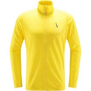 Haglöfs L.I.M Mid Jacket Fleecejacke Herren Signal yellow