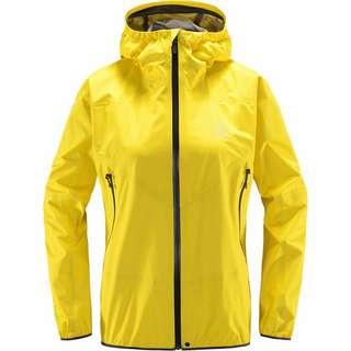 Haglöfs GORE-TEX® L.I.M Comp Jacket Hardshelljacke Damen Signal yellow