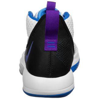 Nike Zoom Rize Basketballschuhe Herren weiß / lila