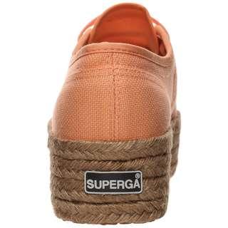Superga 2790-COTROPEW Sneaker Damen orange / braun