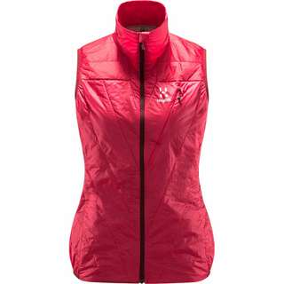 Haglöfs L.I.M Barrier Vest Outdoorweste Damen Hibiscus red