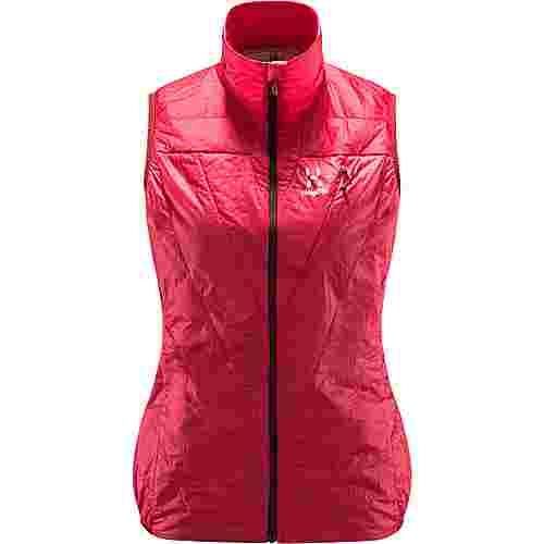 Haglöfs L.I.M Barrier Vest Outdoorweste Damen Hibiscus red