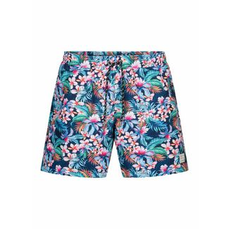 Colours & Sons Flower-Print SIMON Badeshorts Herren multi flower