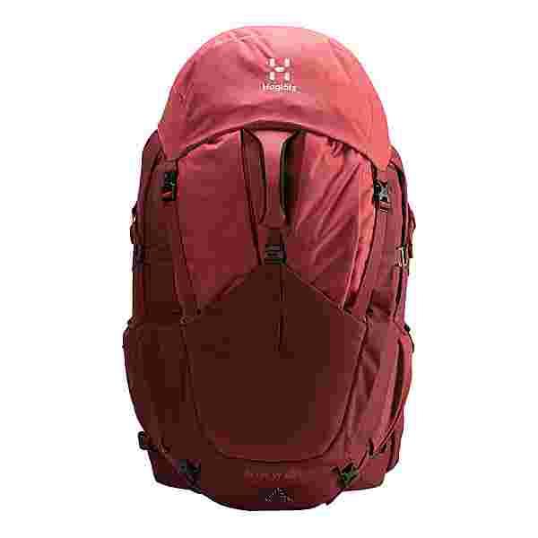 Haglöfs Ängd 60 W Trekkingrucksack Damen Light maroon red/brick red m-l