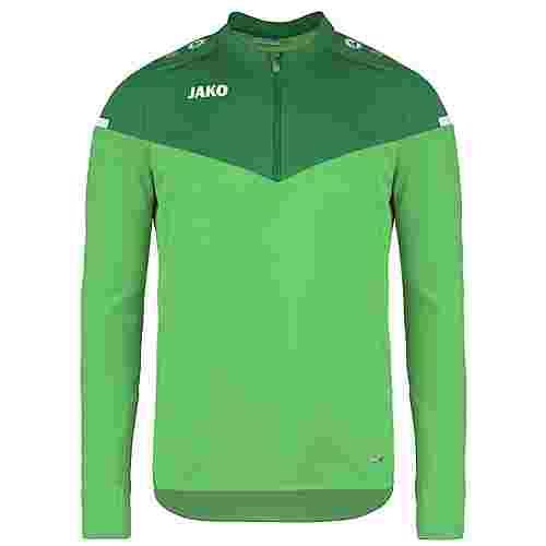 JAKO Champ 2.0 Ziptop Funktionssweatshirt Herren grün / dunkelgrün