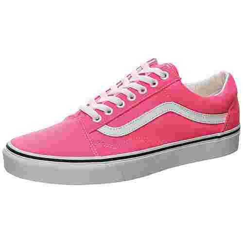 Vans Old Skool Sneaker Herren pink / weiß