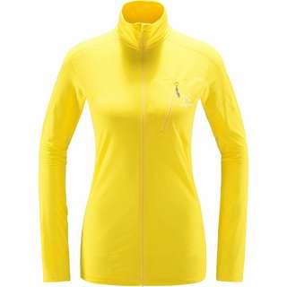 Haglöfs L.I.M Mid Jacket Fleecejacke Damen Signal yellow