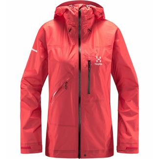 Haglöfs L.I.M Crown Jacket Hardshelljacke Damen Hibiscus red