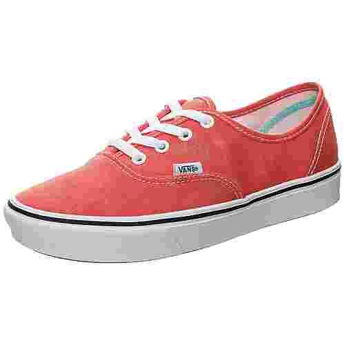 Vans ComfyCush Authentic Sneaker Herren rot / weiß