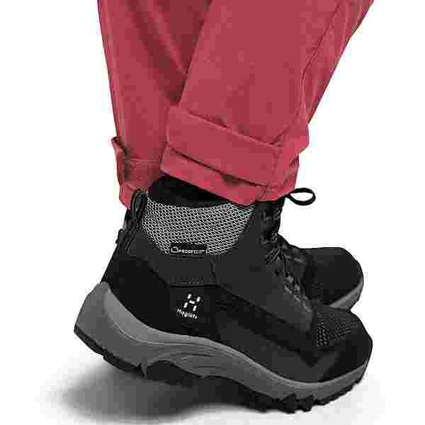 Haglöfs Lite Flex Pant Trekkinghose Damen Brick red