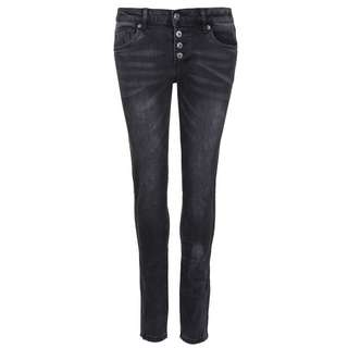 Blue Monkey Alexis 10334 Straight Fit Jeans Damen antra