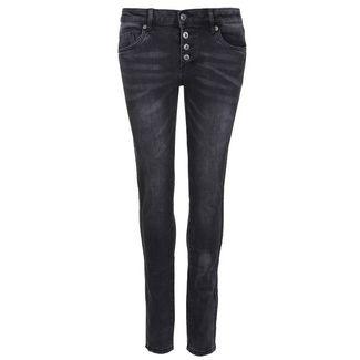 Blue Monkey Alexis 10334 Straight Fit Jeans Damen antra