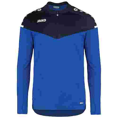 JAKO Champ 2.0 Ziptop Funktionssweatshirt Herren blau / dunkelblau