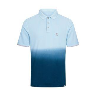 Colours & Sons Polo-Shirt Dip-Dye GLEN Poloshirt Herren deep sea