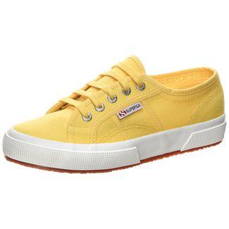 Superga 2750-COTU Classic Sneaker Damen gelb / weiß