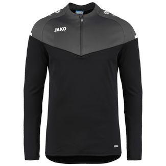 JAKO Champ 2.0 Ziptop Funktionssweatshirt Herren schwarz / anthrazit