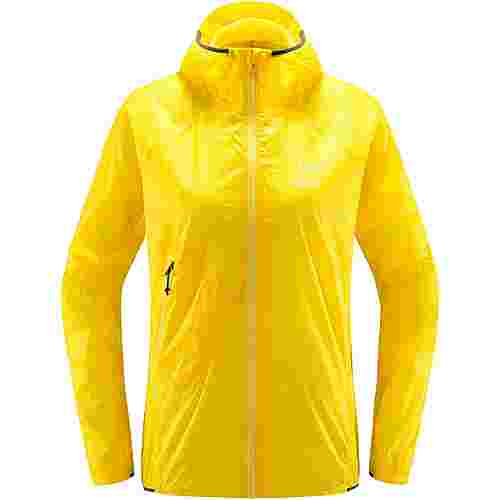 Haglöfs L.I.M Shield Comp Hood Hardshelljacke Damen Signal yellow