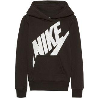 Nike Fleecehoodie Kinder black
