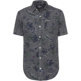 Superdry Kurzarmhemd Herren vintage hawaiian grey