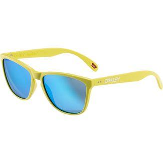 Oakley FROGSKINS 35TH Sonnenbrille matte neon yellow;prizm sapphire