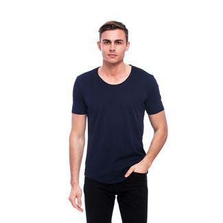 Tom Barron Rundhalsshirt mit Kurzarm T-Shirt Herren dunkelblau