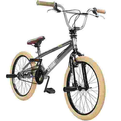 DeTox Freestyle 20 Zoll BMX Rad mit Pegs BMX grau