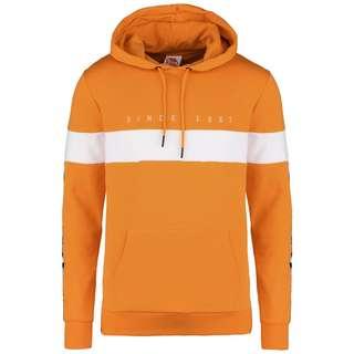 KAPPA Authentic La Caspor Hoodie Herren orange / weiß