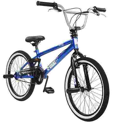 DeTox Freestyle 20 Zoll BMX Rad mit Pegs BMX aquamarinblau