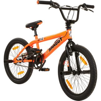 "DeTox Big Shaggy 20"" BMX Rad 4 Pegs Bike BMX orange/schwarz"