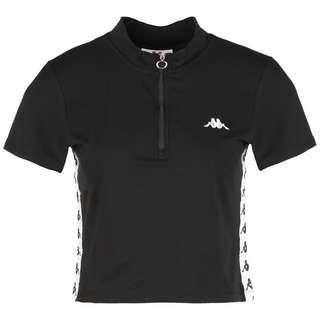 KAPPA Gaby T-Shirt Damen schwarz / weiß