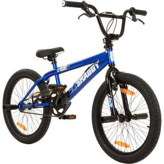 "DeTox Big Shaggy 20"" BMX Rad 4 Pegs Bike BMX blau/schwarz"