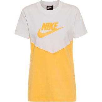Nike NSW T-Shirt Damen white-topaz gold-topaz gold