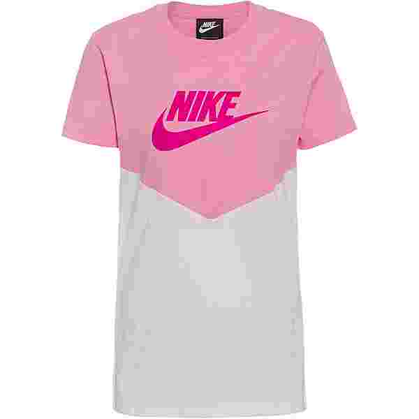 Nike NSW T-Shirt Damen pink rise-white-fire pink
