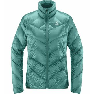 Haglöfs L.I.M Essens Jacket Outdoorjacke Damen Glacier green