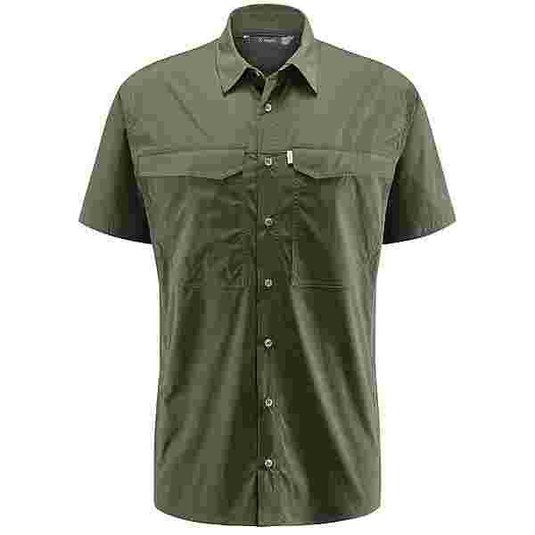 Haglöfs Salo SS Shirt Outdoorhemd Herren Deep woods