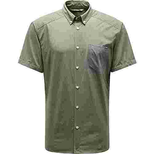 Haglöfs Vejan SS Shirt Outdoorhemd Herren Sage green