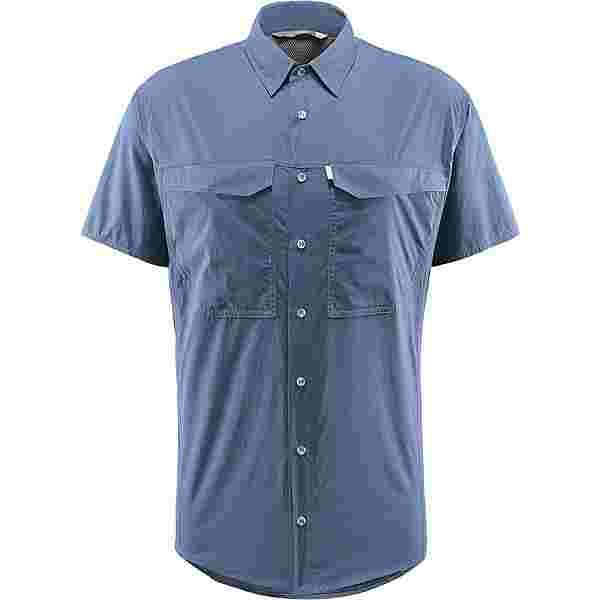 Haglöfs Salo SS Shirt Outdoorhemd Herren Tarn blue