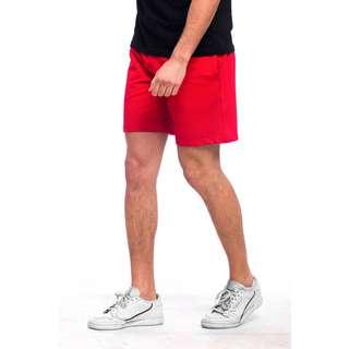 Tom Barron Sportliche Shorts Shorts Herren rot