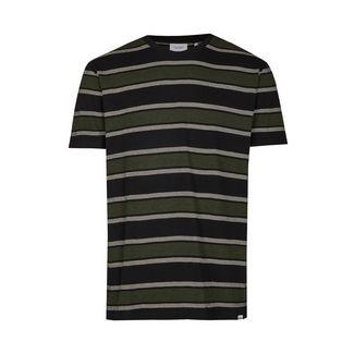Cleptomanicx Printshirt Herren Phantom Black