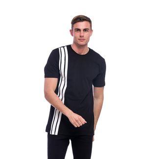 Tom Barron Rundhalsshirt mit Kurzarm T-Shirt Herren schwarz we