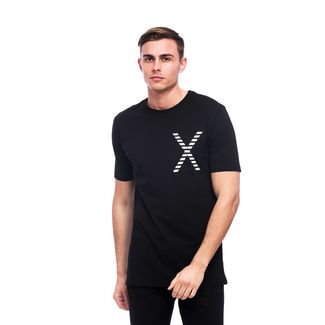 Tom Barron Rundhalsshirt mit Kurzarm T-Shirt Herren schwarz/weiß