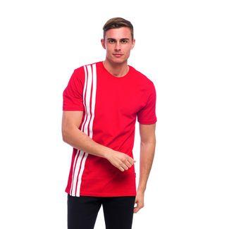 Tom Barron Rundhalsshirt mit Kurzarm T-Shirt Herren rot