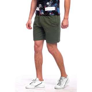 Tom Barron Sportliche Shorts Shorts Herren grün