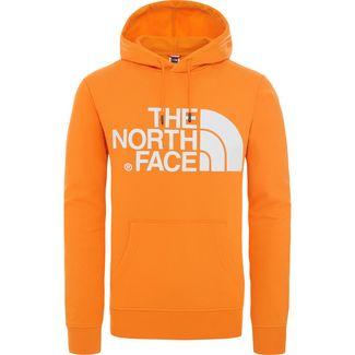 The North Face Standard Hoodie Herren orange / weiß