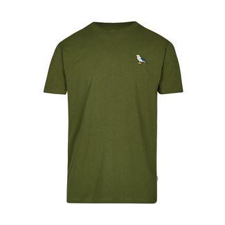 Cleptomanicx T-Shirt Herren Rifle Green