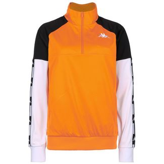 KAPPA Authentic La Baswer Sweatshirt Damen orange / schwarz