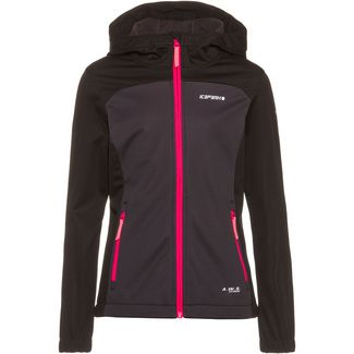 ICEPEAK Lamesa Jr Wanderjacke Kinder black-grey